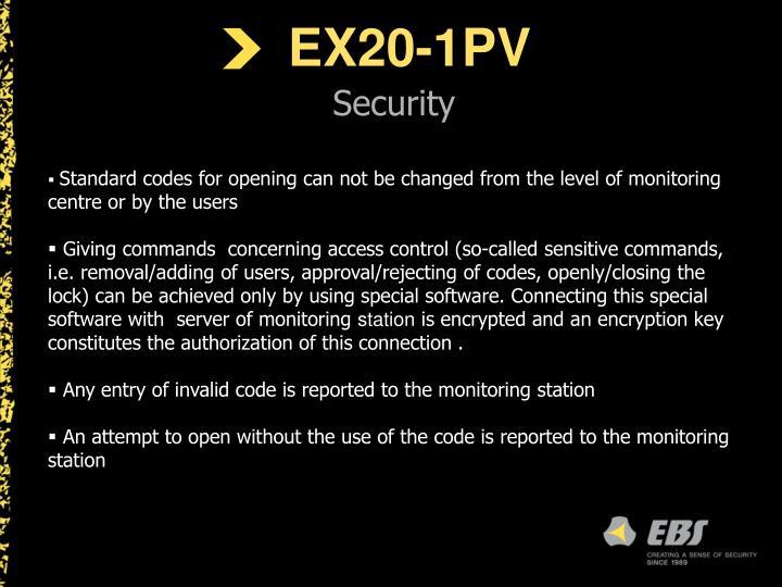 EX20-1PV