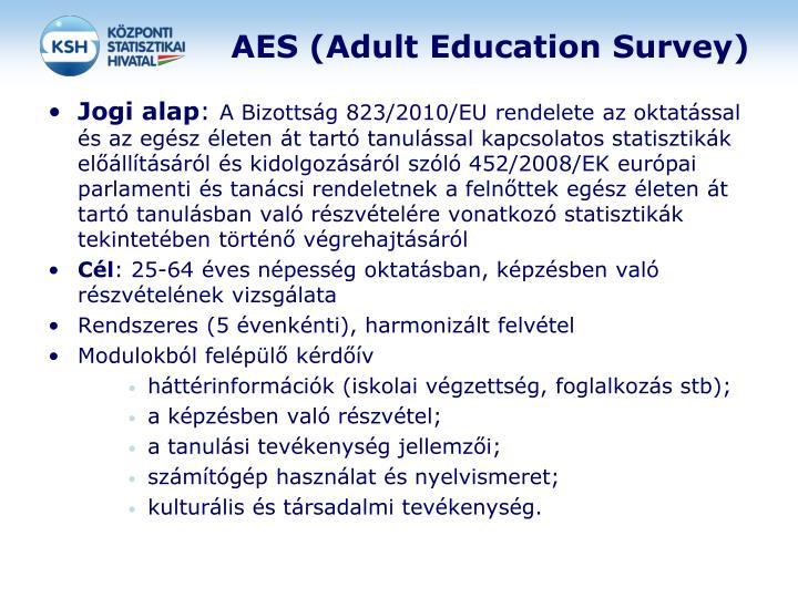 AES (Adult Education Survey)