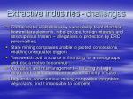 extractive industries challenges1
