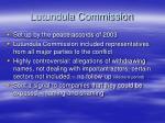 lutundula commission