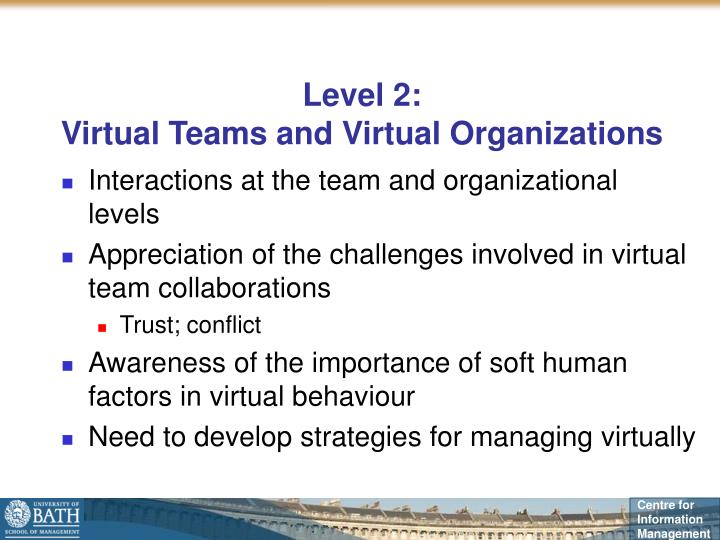virtual organizational behaviour The impact of employee behaviour on organizational this paper provides some insight into the impact of organizational culture behaviour of punctuality and.