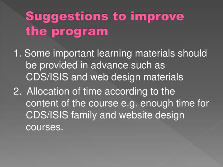the importance of learning materials in Lesson plans, teacher guides and online humorous illustrations and animations to help break down the important education programs, resources and.