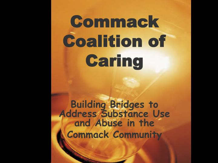 Commack coalition of caring