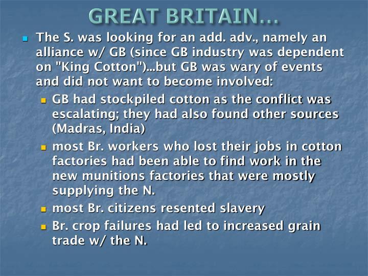 GREAT BRITAIN…