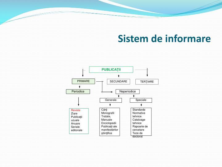 Sistem de informare1