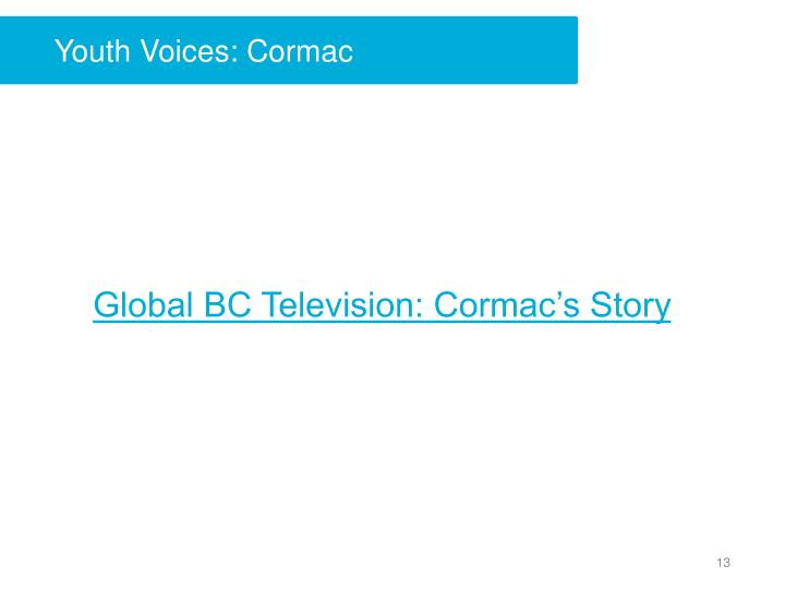 Youth Voices: Cormac