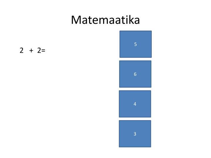 Matemaatika