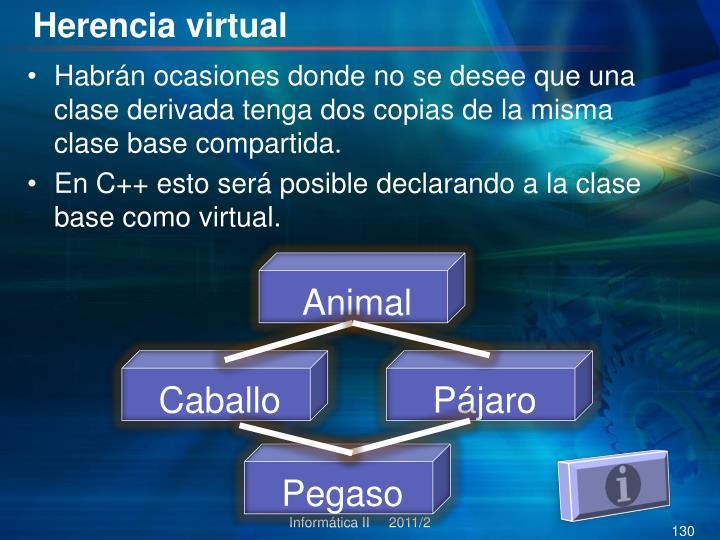 Herencia virtual