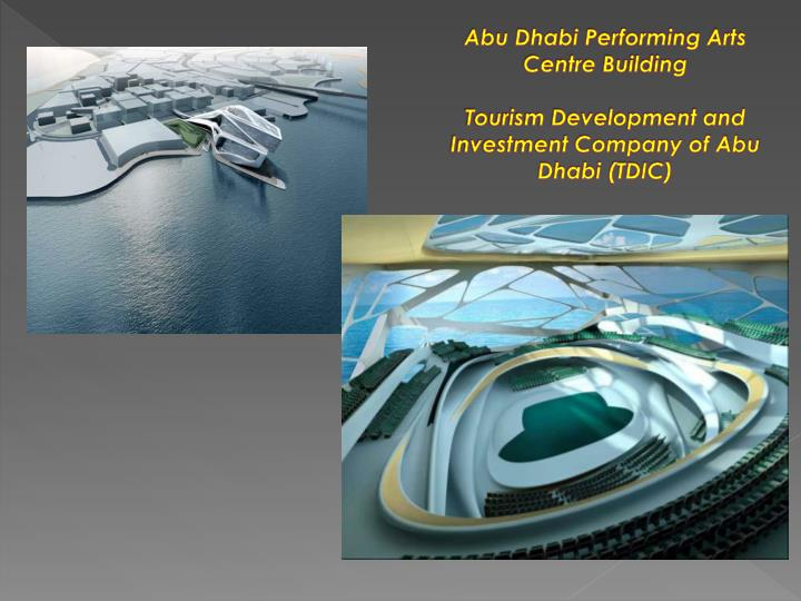 Abu Dhabi Performing Arts Centre Building