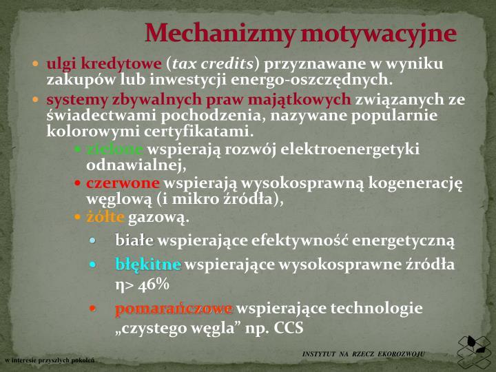 Mechanizmy motywacyjne