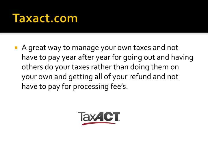 Taxact.com