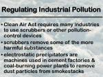 regulating industrial pollution