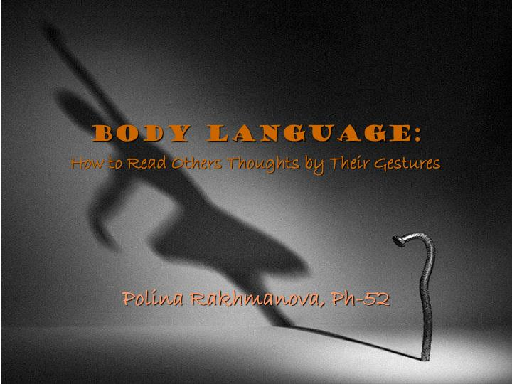 body language how to read others thoughts by their gestures n.