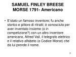 samuel finley breese morse 1791 americano