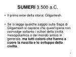 sumeri 3 500 a c
