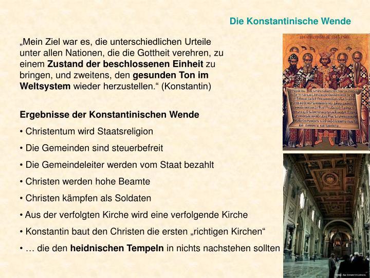 Die Konstantinische Wende