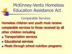 mckinney vento homeless education assistance act1