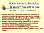 mckinney vento homeless education assistance act4