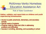 mckinney vento homeless education assistance act7