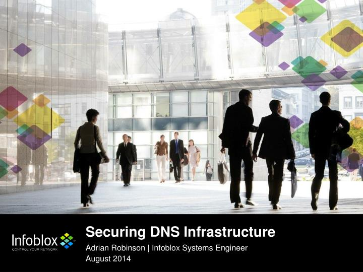 securing dns infrastructure n.