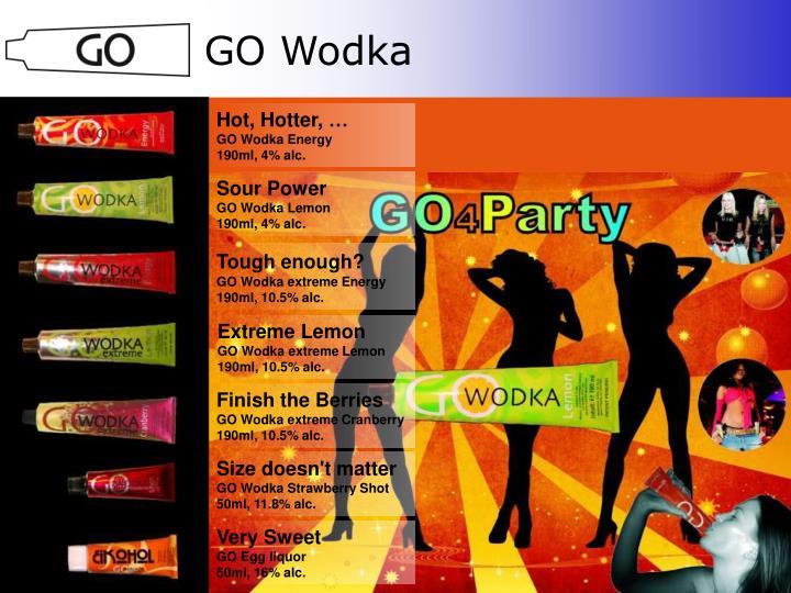 GO Wodka