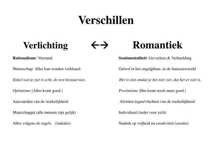 PPT - Romantiek & realisme in kunst en literatuur PowerPoint ...