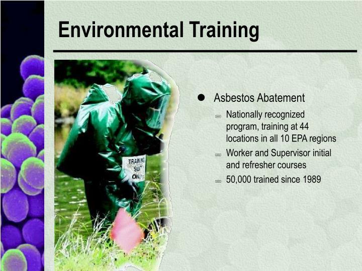 Environmental Training