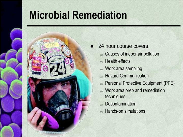 Microbial Remediation