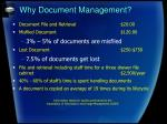 why document management