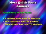 more quick facts jamaica2