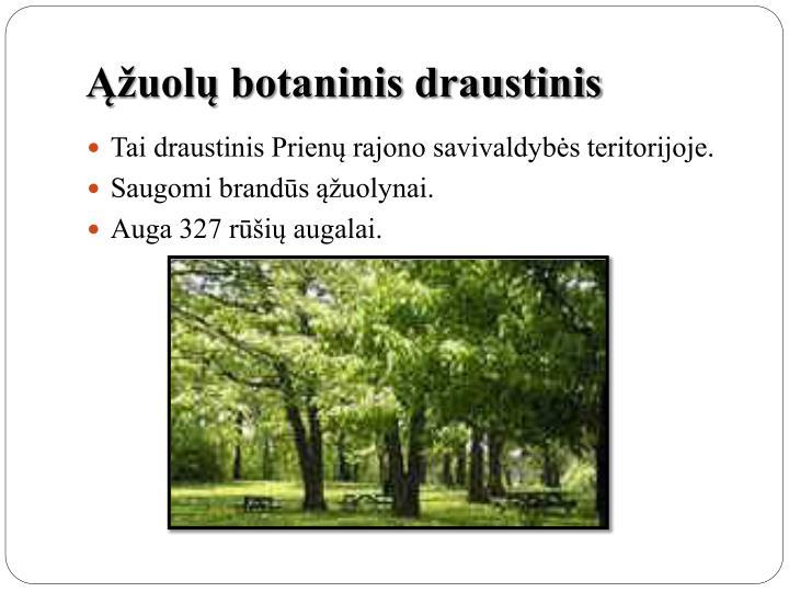 Ąžuolų botaninis draustinis