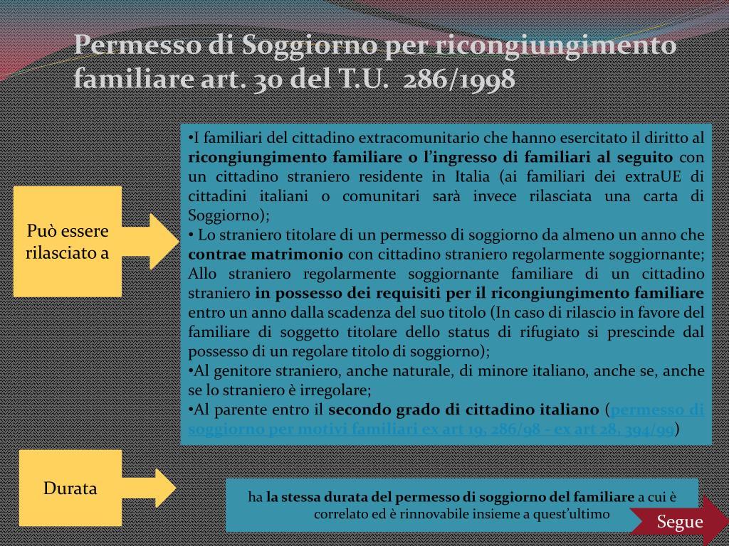 Ppt Tipologie Di Permesso Di Soggiorno Powerpoint Presentation Free Download Id 4882280
