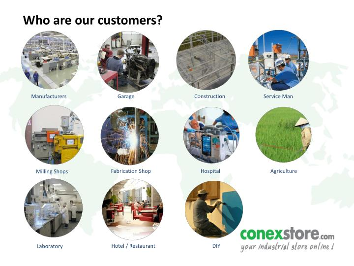 Who are our customers?