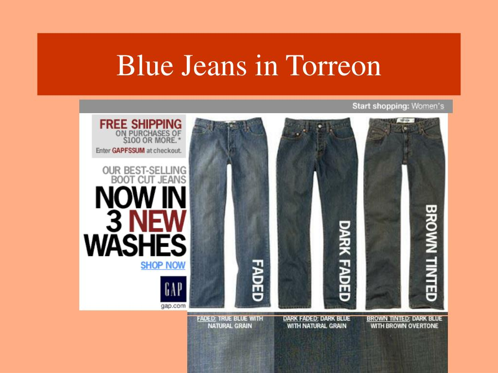 ppt blue jeans in torreon powerpoint presentation id 4882642