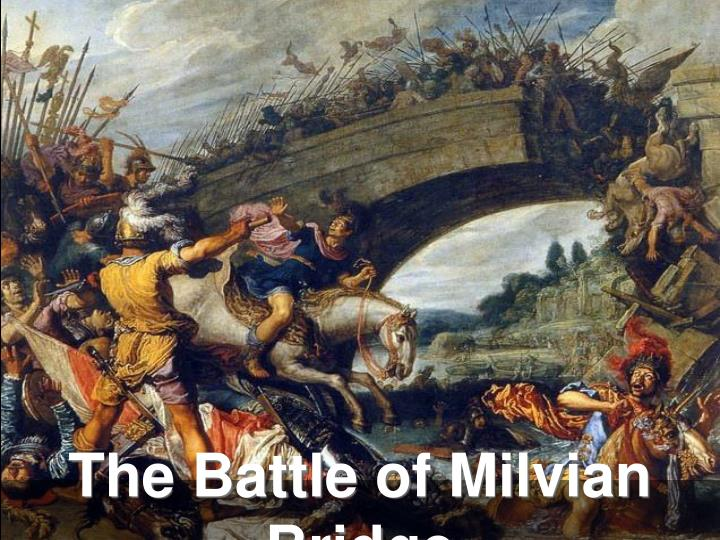 The Battle of Milvian Bridge