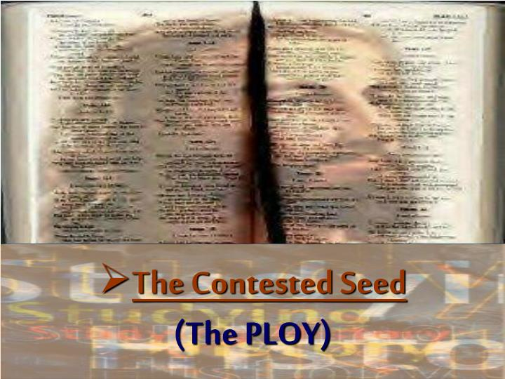 The Contested Seed