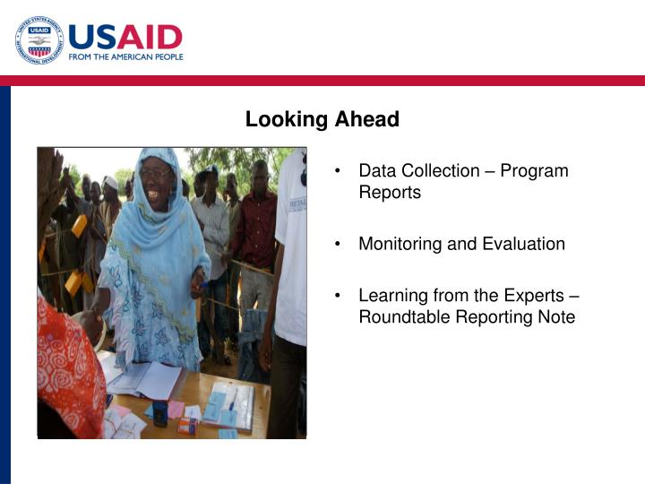 Data Collection – Program Reports