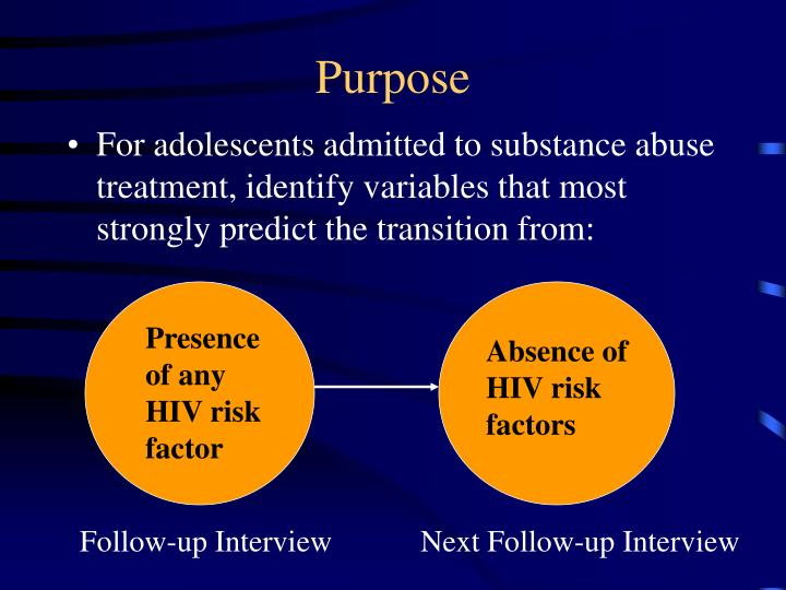 risk factors for adolescent substance abuse As noted in numerous research studies, abuse is a major risk factor in the  development of substance use and addiction abuse can take.