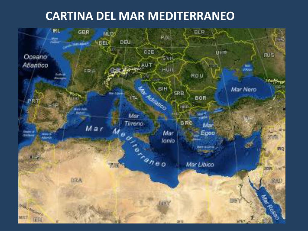 Mar Mediterraneo Cartina Politica.Ppt Cartina Del Mar Mediterraneo Powerpoint Presentation Free Download Id 4883007