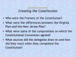 essential questions creating the constitution