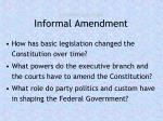 essential questions informal amendment