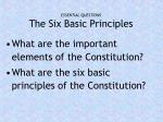 essential questions the six basic principles