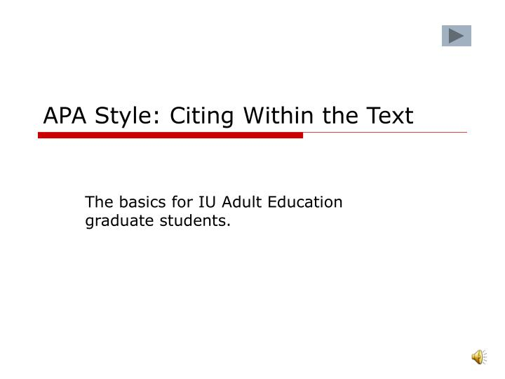 apa cite essay textbook Instantly create citations for book generate works cited pages, bibliographies and more in mla, apa, chicago and various other formats only with citecom.