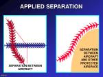 applied separation
