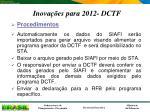 inova es para 2012 dctf1
