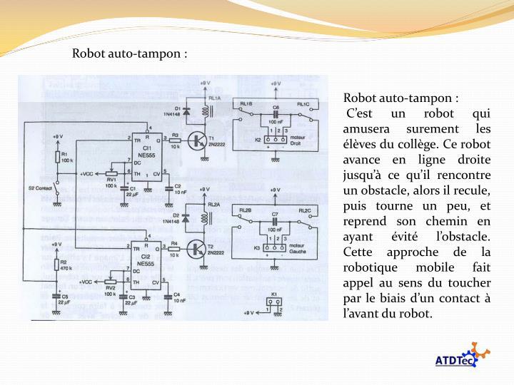Robot auto-tampon :
