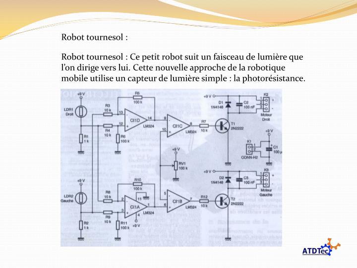 Robot tournesol :