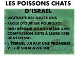 les poissons chats d israel