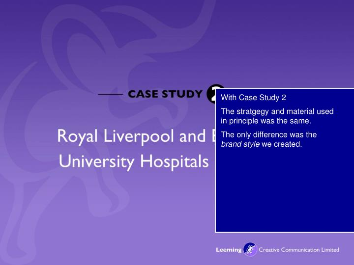 With Case Study 2