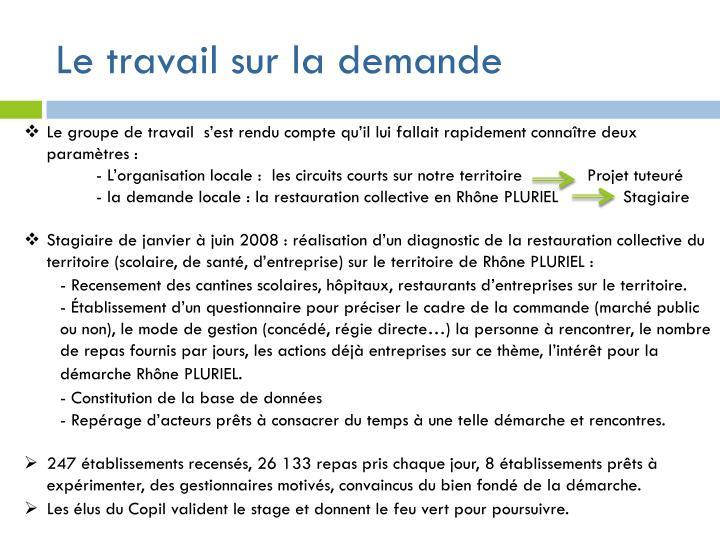 Gestion De Projet Restauration Collective Approvisionnement En Produits Locaux